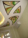 1-20 Витражные вставки в потолке - Витражные потолки, витражи на потолок (потолочные витражи)