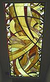 1-21 Потолочный витраж и плафон в стиле «Ар-Деко» - Витражные потолки, витражи на потолок (потолочные витражи)