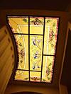 1-24 Витраж на потолке с художественным освещением - Витражные потолки, витражи на потолок (потолочные витражи)