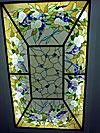 1-47 Витражный декор потолка с освещением - Витражные потолки, витражи на потолок (потолочные витражи)