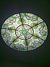 1-53 Витражный светильник в потолке - Витражные потолки, витражи на потолок (потолочные витражи)