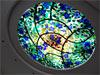 1-3 'Потолочный плафон' - витражный потолок с комбинацией техник «Тиффани» и молирования - Витражные потолки, витражи на потолок (потолочные витражи)