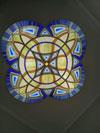 1-64 Витражный потолок в стиле «Готика», готический витраж - Витражные потолки, витражи на потолок (потолочные витражи)
