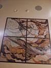 1-57 Витражный потолок «Первым делом самолеты» - Витражные потолки, витражи на потолок (потолочные витражи)
