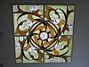 1-70 Витражный потолок «Цветочная спираль» - Витражные потолки, витражи на потолок (потолочные витражи)