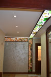 1-69 Витражный потолок, совмещенный с нишей «Тропикана» - Витражные потолки, витражи на потолок (потолочные витражи)