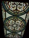 1-60 Витражный потолок «Вензеля» - Витражные потолки, витражи на потолок (потолочные витражи)