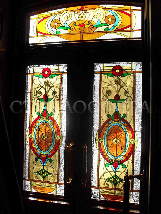 стекло на дверь входную