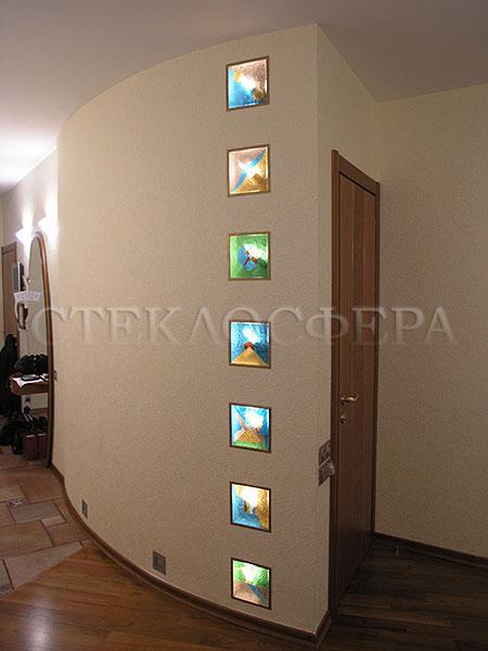Встраиваемые светильники, витражи светильники. Светильники из витражного стекла