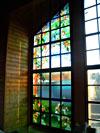 4-21 Оконный витраж - Витражи на окна. Купить витражные окна в Москве