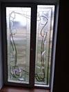 4-52 Художественный витраж на окно - Витражи на окна. Купить витражные окна в Москве