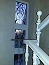 4-53 Цветное витражное стекло для окна - Витражи на окна. Купить витражные окна в Москве