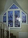 4-54 Витражные окна из художественного стекла - Витражи на окна. Купить витражные окна в Москве