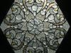 4-55 Витражная вставка в окно - Витражи на окна. Купить витражные окна в Москве