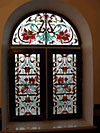 4-29 Витражи на окна в английском стиле - Витражи на окна. Купить витражные окна в Москве