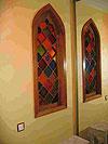 4-17 Декоративное окно «Арабески», купить витражи в Москве - Витражи на окна. Купить витражные окна в Москве