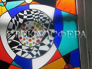 Техники изготовления художественного витража - художественная роспись по стеклу